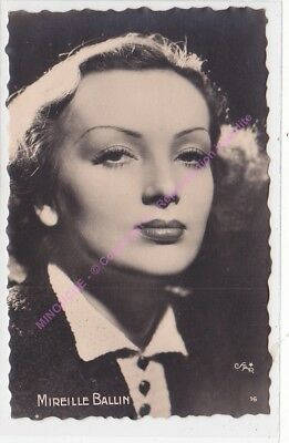 CPSM RPPC STAR MIREILLE BALIN PHOTO STAR Edt O.P.16