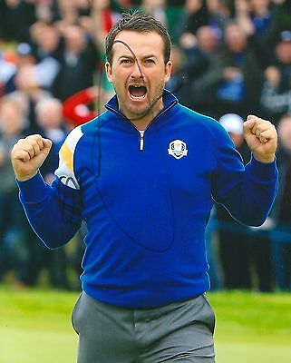 GRAEME MCDOWELL signed 8x10 PGA RYDER CUP photo with COA