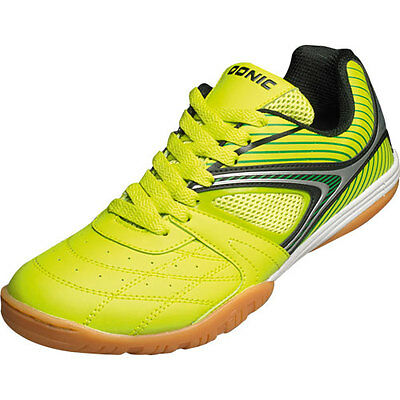 Donic Daytona Table tennis shoe Indoor shoes White neon green 310204