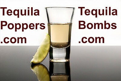 Domain Name(s) Tequila Bombs.com-Tequila Popper.com-Tequila Poppers.com for sale