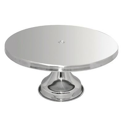 Stainless Steel Cake Stand Catering Restaurant Display Party Cafe