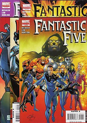 FANTASTIC FIVE Limited series (5 issues) Marvel, 2007. Original edition USA