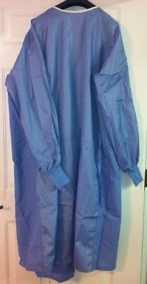 3 ANGELICA Reusable Painting Smocks XL Knitted Cuffs 100% Polyester