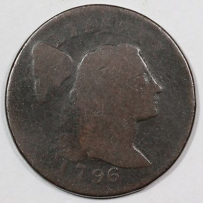 1796 S-83 R-4 Liberty Cap Large Cent Coin 1c