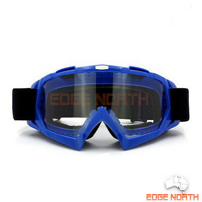 Brand New motocross goggle anti-fog UV protection MX dirt trail ATV unisex Clear