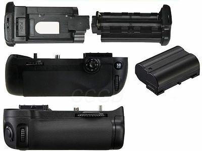 Battery Grip Pack For Nikon D7100 SLR Camera + 2 X EN-EL15 Battery as MB-D15