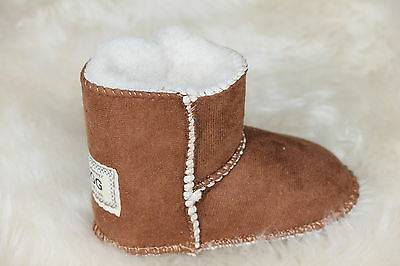 Baby Ugg Boots Colour Chestnut Size Medium (M)