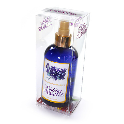 Violetas Cubanas Colonia Spray 8oz Cuban Violets Cologne For Children and Adults