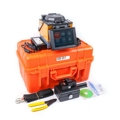 Fiber Optic Splicing Machine JILONG KL-300T Fusion Splicer Kit w/Cleaver