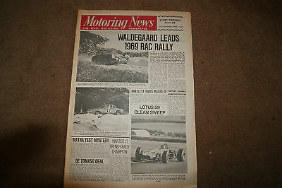 Motoring News 20 November 1969 Rally Imp Test RAC Interim Report F2 Review March