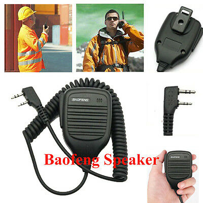 2 pins Speak Walkie-talkie Microphone Mic For Baofeng Brand Speaker Interphone