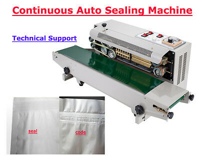 Quality First! HOT SALE! 110V Continuous Band Horizontal Bag Sealer USA SELLER