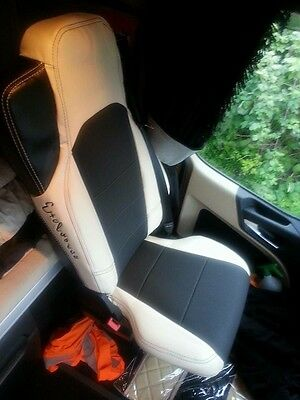 TRUCK SEAT COVERS MERCEDES Set Of Seats Covers For Mercedes Actros MP4 Beige