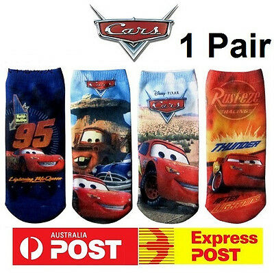 NEW Disney Cars McQueen Mater Girls Cotton Socks Kids Boys Costume Party Favor