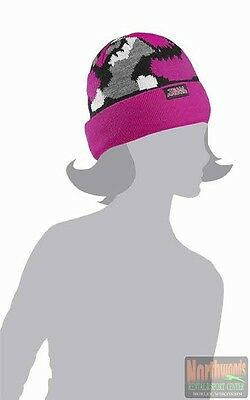 Arctic Cat Youth Team Arctic Camo Beanie / Hat - Pink 5253-175