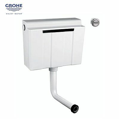 Grohe Adagio 39053 Dual Flush Concealed Flushing Cistern Bottom Entry + Button