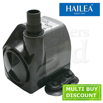 HAILEA HX4500 WATER PUMP 2000Lh ADJUSTABLE fish tank hydroponic aquarium HX-4500