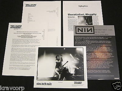 Nine Inch Nails 'And All That Could Have Been' 2002 Press Kit--Photo