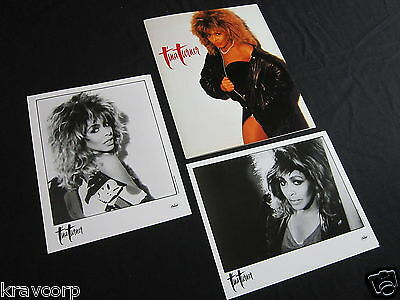 Tina Turner 'Break Every Rule' 1986 Press Kit—2 Photos