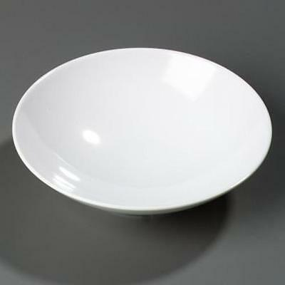 "Carlisle Round Open Vegetable Bowl 36 oz, 9"" White 12 pack"