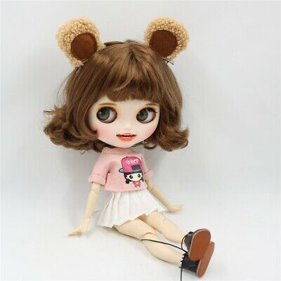 """Takara 12"""" Neo Blythe Curly Hair Nude Doll from Factory TBY149"""
