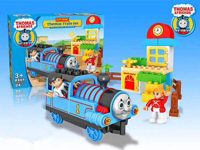 Thomas The Tank Engine & Friends Building Block Table Board Game Kids Train Toy