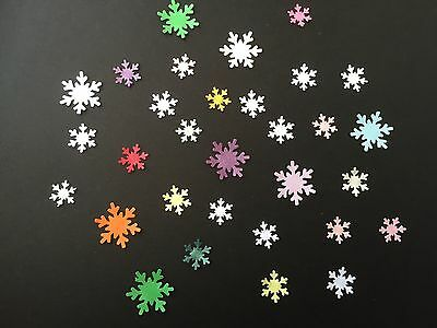 400 Mixed Snowflakes.Ideal For Cardmaking, Scrap booking & Table Decorations