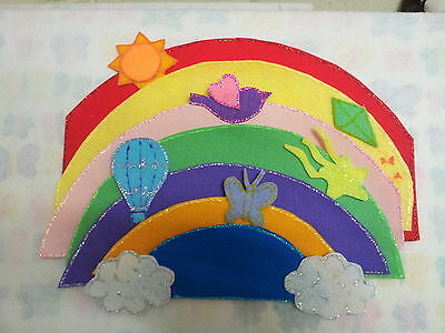 Felt Board Story Rhyme Teacher Resource - I Can Sing A Rainbow