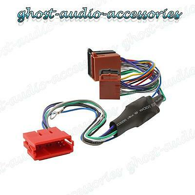 Audi A4 Amplified Active ISO Radio / Stereo harness / adapter / wiring connector
