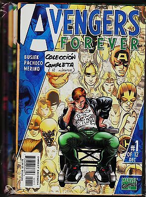 AVENGERS FOREVER. Limited series (12 issues) Marvel, 1998 Original edition USA