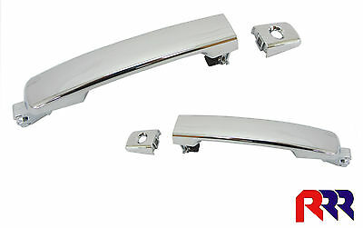 New Nissan Pathfinder R51 05/05-10/13 Front Outer Door Handle Chrome  (Pair)