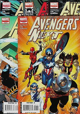 AVENGERS NEXT. MC2 universe (5 issues) Marvel, 2007. Original edition USA