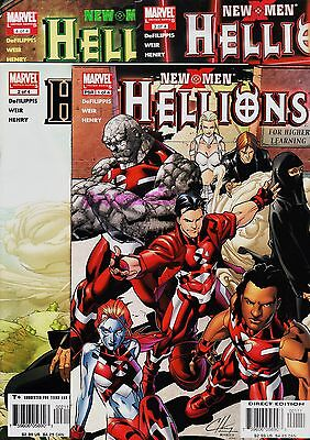 New X Men: HELLIONS Limited Series (4 issues) Marvel, 2005. Original edition USA
