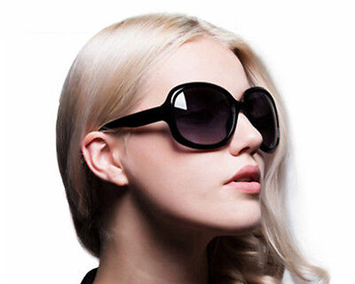 Womens Fashion  Polarized Sunglasses Oversized Retro Designer Eyewear Shades