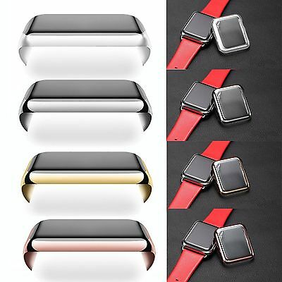 BS Metal Plated Full Cover Hard Case For Apple Watch/Watch Sport/Watch Edition