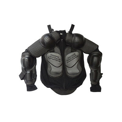 BMX Kid Youth Body Armour Armor Protector Chest Dirt Bike Quad Motor Bike S Size