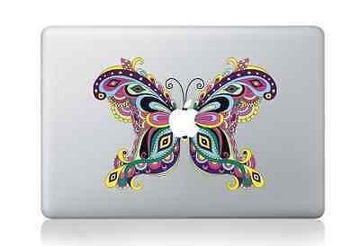 """Butterfly Apple Macbook Air/Pro 13/15"""" Removable Vinyl Sticker Skin Decal"""