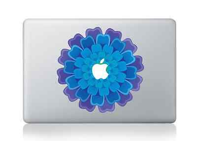 "Beautiful Flower Apple Macbook Air/Pro 13/15"" Removable Vinyl Sticker Skin Decal"