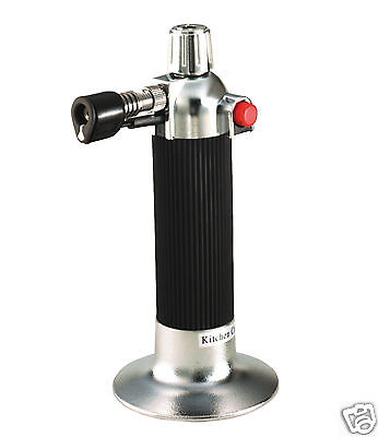 Kitchen Craft Creme Brulee Cook's Blow Torch Refillable KCBLOWTORCHCP
