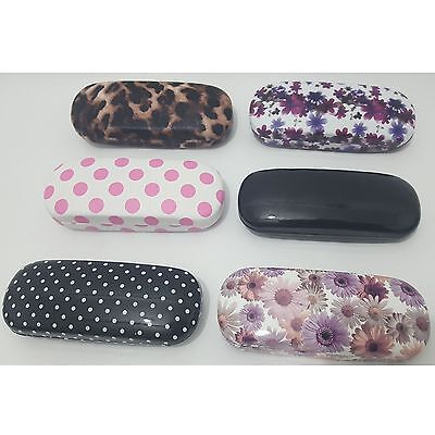 """Glamour Essentials"" Designer Hard Glasses Case High Protection 'inner linning'"