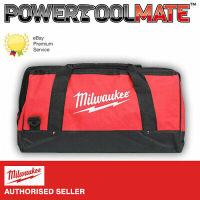 """Milwaukee M18 24"""" Canvas Contractors Heavy Duty Carry Tool Bag M18BAG"""