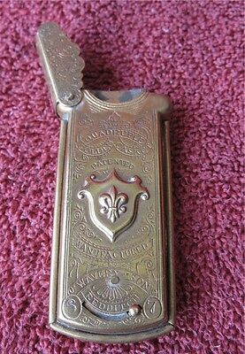 Victorian Quadruple Golden Casket (Sewing Needle Case)