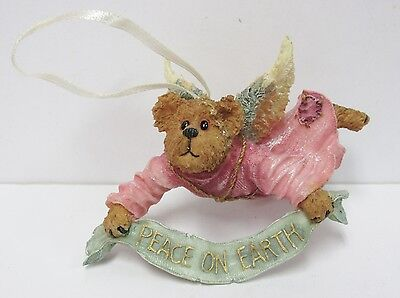 """Boyds # 25771-2E - """"Tranquility Angelpeace""""- Bearstone Collection Ornament"""