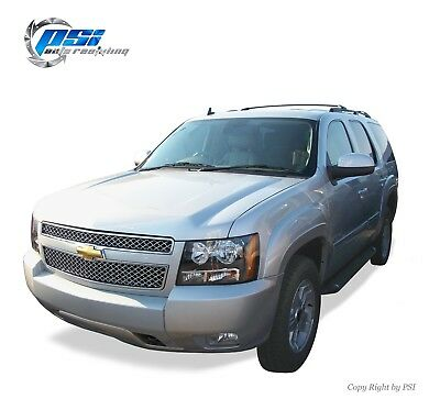 Black Paintable OE Style Fender Flares 2007-2014 Chevrolet Tahoe Excluding LTZ