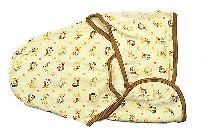 Summer Swaddle Me 100% Cotton Easy Wrap Swaddle Size From Newborn to 4mths