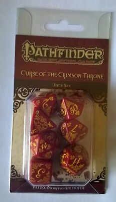 Gioco Ruolo GDR Pathfinder Set Dadi Course of the Crimson Throne