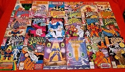 Thanos Quest 1 2 Book One & Two Silver Surfer 44 34 -50 35-38-45 46 Warlock 1 -6