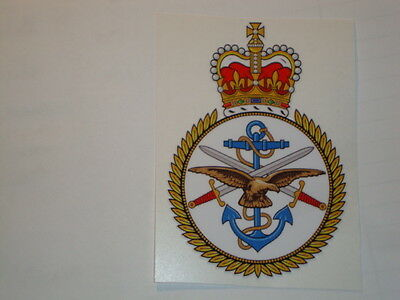 """2 X  Uk Armed Forces Stickers  4"""" British Army Usa  Military Insignia"""