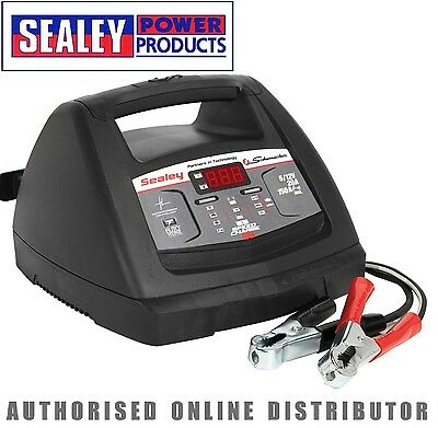 Sealey Starter 150Amp / Intelligent Speed Battery Charger 20Amp 6/12V - SCI90S