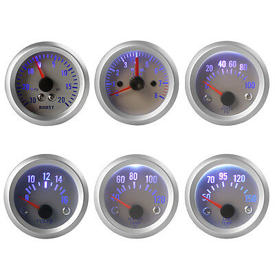 "2"" 52mm Car Boost /Oil TEMP /Oil Pressure /Tachometer /Water TEMP/ Voltage Meter"